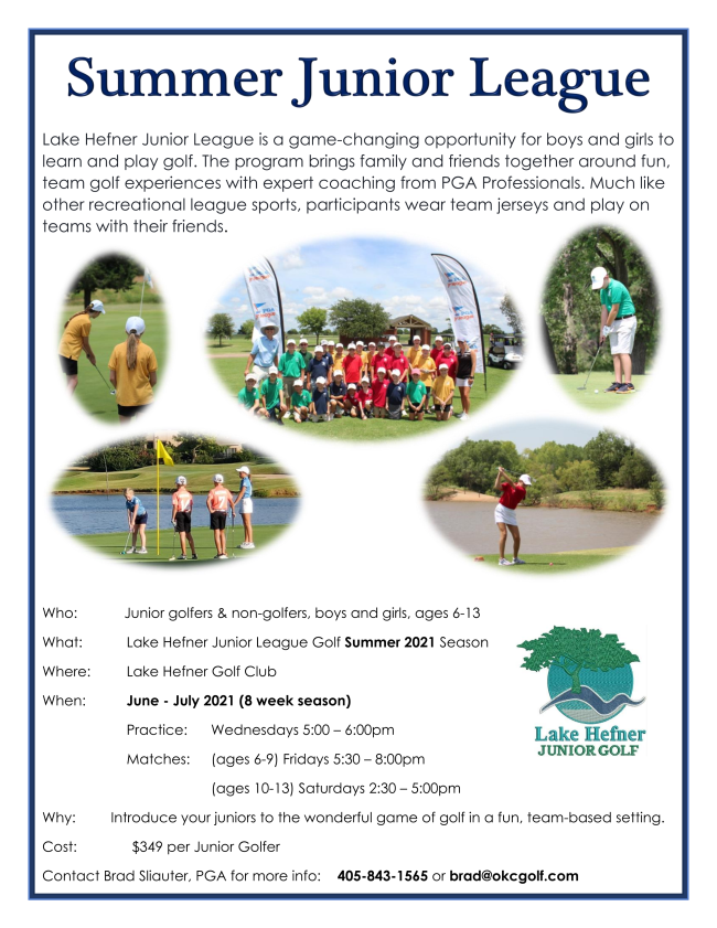 Hefner Summer Jr League